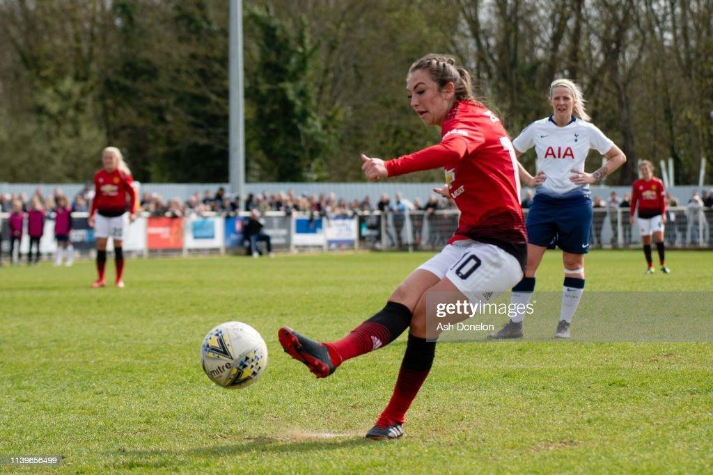 Tottenham Hotspur Women v Manchester United Women: WSL 2 : News Photo