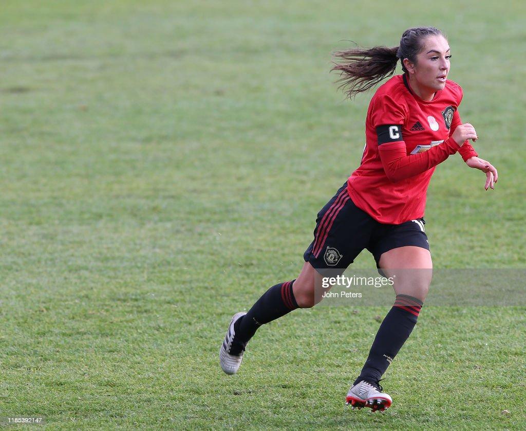 Everton Women v Manchester United Women - FA Women's Continental League Cup : News Photo