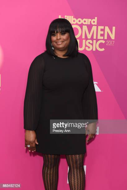 Katina Bynum attends the Billboard Women In Music 2017 Arrivals at The Ray Dolby Ballroom at Hollywood Highland Center on November 30 2017 in...