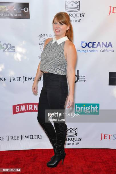 Katina Nikou attends Boo2Bullying's 4th Annual Take A Bite Out Of Bullying at the Los Angeles LGBT Center on July 26 2018 in Los Angeles California