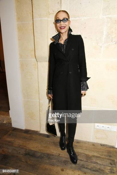 Katinka de Montal attends the 'Bel RP' 10th Anniversary at Atelier Sevigne on April 10 2018 in Paris France
