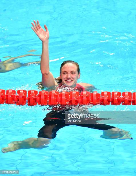 Katinka Hosszu during the Budapest 2017 FINA World Championships on July 27 2017 in Budapest Hungary