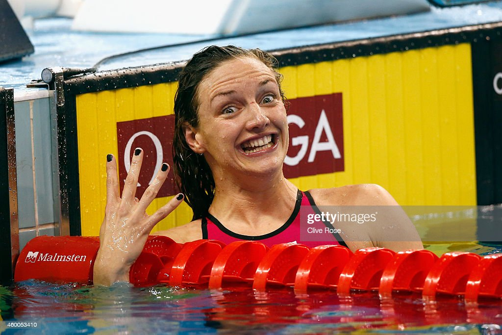12th FINA World Swimming Championships (25m) - Day Four : News Photo