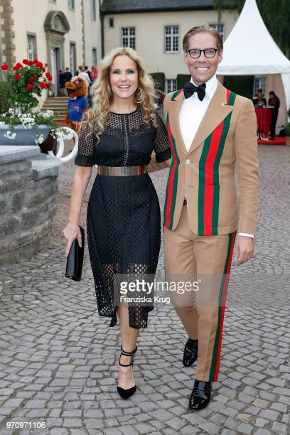 Katja Burkard and Jens Hilbert attend the Balve Optimum 2018 Gala on June 8 2018 in Balve Germany