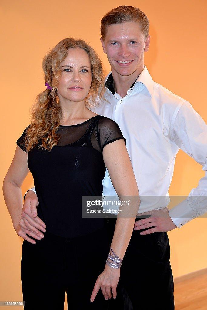Katja Burkard Trains For 'Let's Dance'