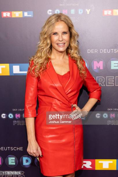 Katja Burkard attends the 23rd annual German Comedy Awards at Studio in Köln Mühlheim on October 02 2019 in Cologne Germany