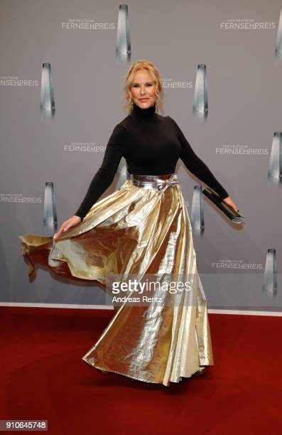 Katja Burkard attends the German Television Award at Palladium on January 26 2018 in Cologne Germany