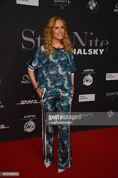 Katja Burkard attends the Michalsky Style Night at Tempodrom on July 11 2014 in Berlin Germany