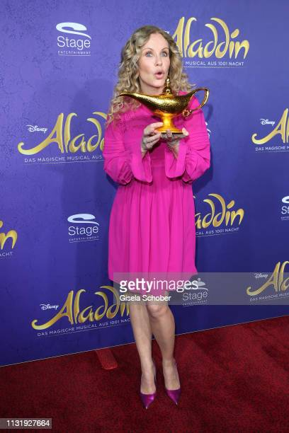 Katja Burkard during the premiere of the musical Aladdin at Stage Apollo Theater on March 21 2019 in Stuttgart Germany