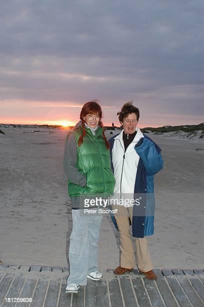 Katja Ebstein Freundin Sonnenwendefest Insel Amrum