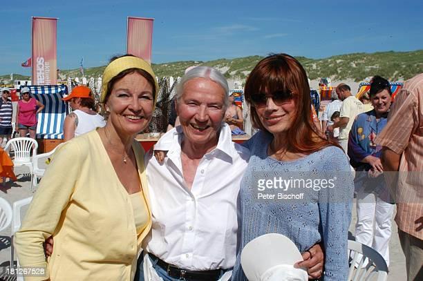 Katja Ebstein Helga Schlack Barbara Prey ARD/NDRShowAktuelle Schaubude Nordstrand von Amrum