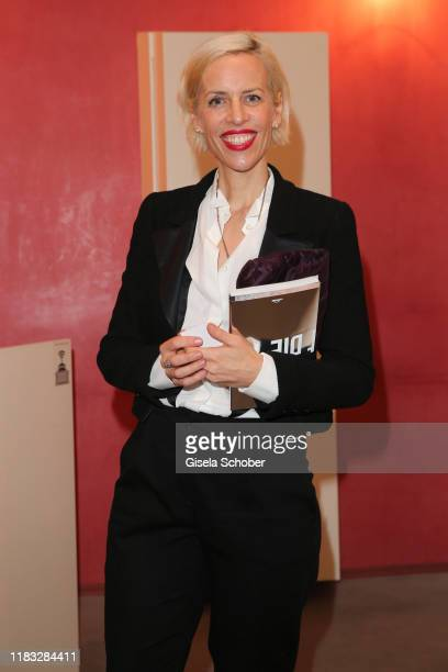 Katja Eichinger at the opera premiere of Die tote Stadt by Erich Wolfgang Korngold at Bayerische Staatsoper on November 18 2019 in Munich Germany