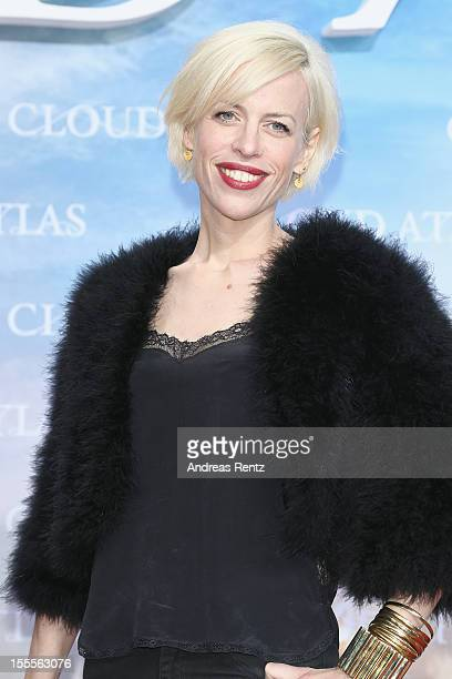 Katja Eichinger attends the 'Cloud Atlas' Germany Premiere at CineStar on November 5 2012 in Berlin Germany