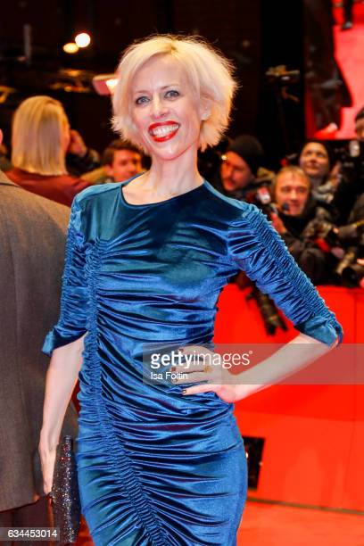 Katja Eichinger attends the 'Django' premiere during the 67th Berlinale International Film Festival Berlin at Berlinale Palace on February 9 2017 in...