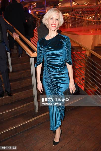 Katja Eichinger attends the opening party during the 67th Berlinale International Film Festival Berlin at Berlinale Palace on February 9 2017 in...