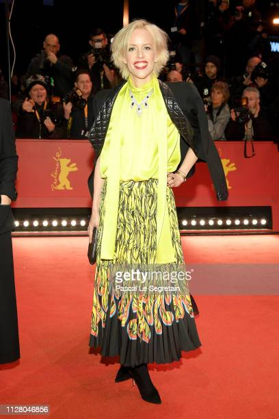 Katja Eichinger attends the 'The Kindness Of Strangers' premiere during the 69th Berlinale International Film Festival Berlin at Berlinale Palace on...