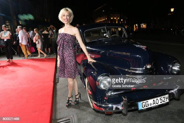 Katja Eichinger during the opening night party of the Munich Film Festival 2017 at Hotel Bayerischer Hof on June 22 2017 in Munich Germany