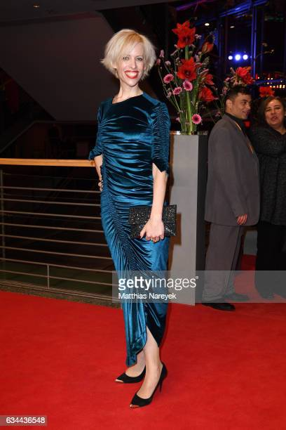 Katja Eichinger the 'Django' premiere during the 67th Berlinale International Film Festival Berlin at Berlinale Palace on February 9 2017 in Berlin...