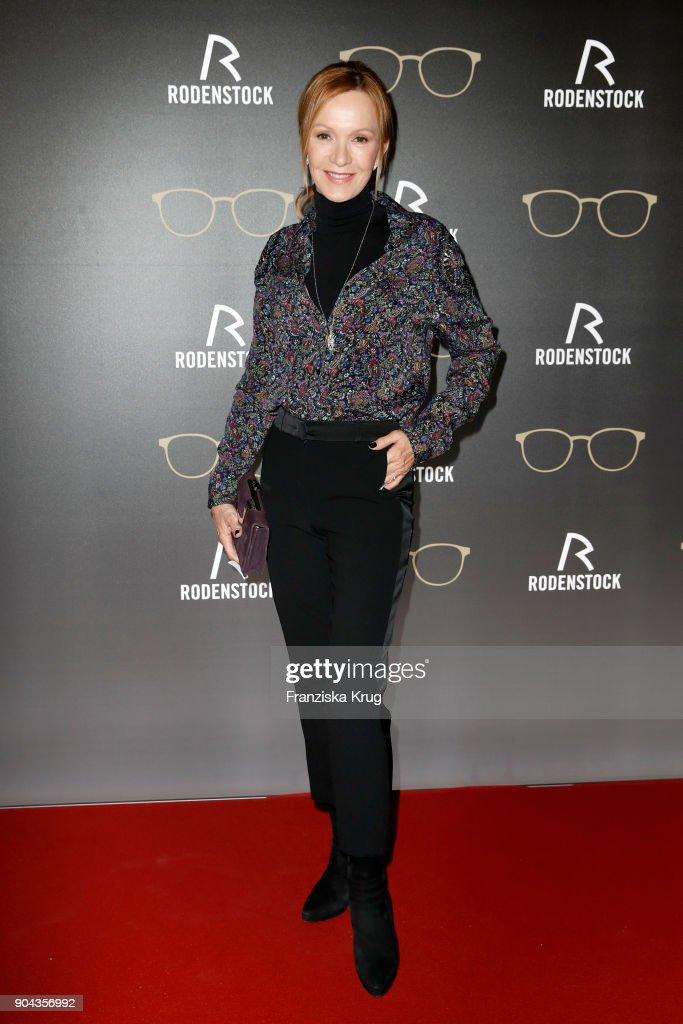 Katja Flint during the Rodenstock Eyewear Show on January 12, 2018 in Munich, Germany.
