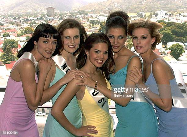 Katja Giebner Miss Austria 1999 Kristy Wilson Miss New Zealand 1999 Kimberly Ann Pressler Miss Usa 1999 Marijana Kuzina Miss Croatia 1999 And...