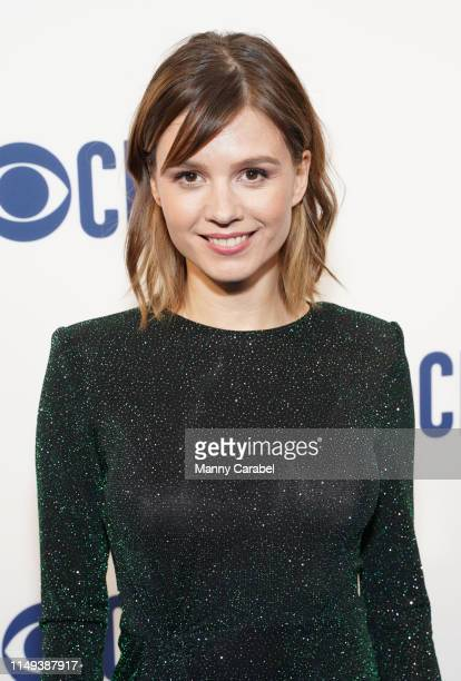 Katja Herbers attends the 2019 CBS Upfront at The Plaza on May 15 2019 in New York City