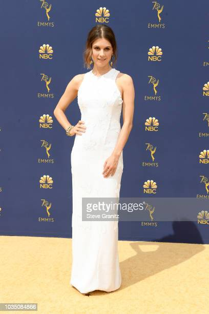 Katja Herbers attends the 70th Emmy Awards at Microsoft Theater on September 17 2018 in Los Angeles California