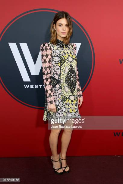 Katja Herbers attends the premiere of HBO's Westworld Season 2 at The Cinerama Dome on April 16 2018 in Los Angeles California