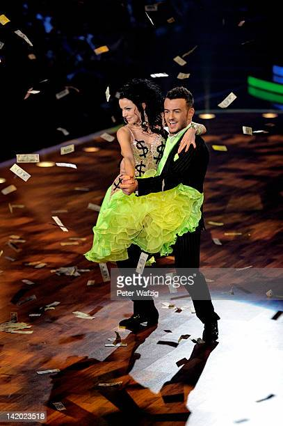 Katja Kalugina and Ardian Bujupi perform during 'Let's Dance' Third Show at Coloneum on March 28 2012 in Cologne Germany