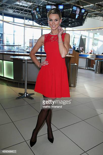 Katja Kühne attends the RTL Telethon 2014 on November 21 2014 in Cologne Germany