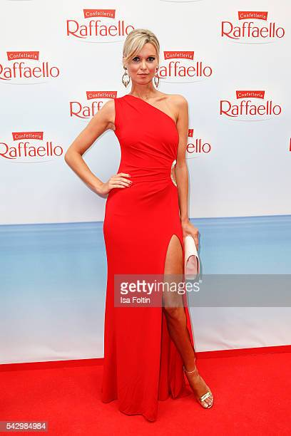 Katja Kuehne attends the Raffaello Summer Day 2016 to celebrate the 26th anniversary of Raffaello on June 24 2016 in Berlin Germany