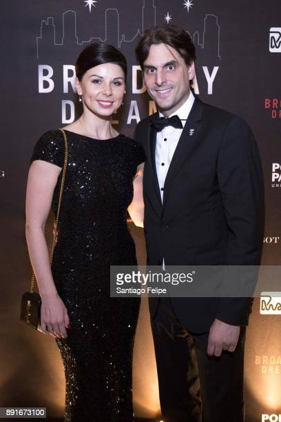 Katja Mack and Thomas Mack attend the 10th Annual Broadway Dreams Supper at The Plaza Hotel on December 12 2017 in New York City