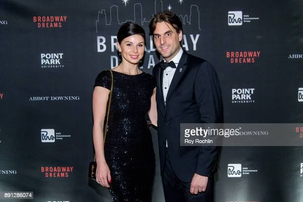 Katja Mack and Thomas Mack attend the10th Annual Broadway Dreams Supper at The Plaza Hotel on December 12 2017 in New York City