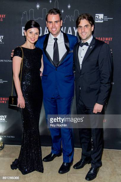 Katja Mack Ryan Stana and Thomas Mack attend the10th Annual Broadway Dreams Supper at The Plaza Hotel on December 12 2017 in New York City