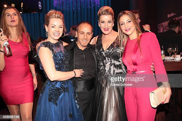 Katja Ohneck Erdogan Atalay Alexa Maria Surholt Arzu Bazman during the Bambi Awards 2013 after show party on November 13 2014 in Berlin Germany