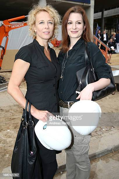 Katja Riemann attends roofing ceremony at BMW new Berlin location at BMW Niederlassung Berlin on May 7 2013 in Berlin Germany