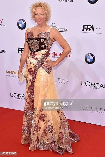 Katja Riemann attends the Lola German Film Award on May 27 2016 in Berlin Germany