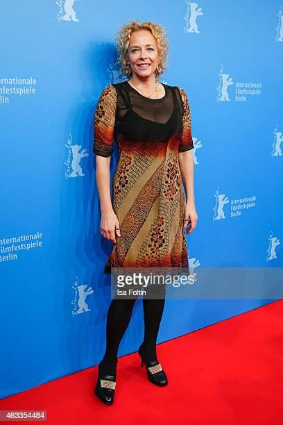 Katja Riemann attends the ''The Misplaced World' Premiere - 65th Berlinale International Film Festival on February 13, 2015 in Berlin, Germany.