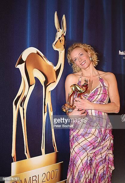 Katja Riemann , Bambi-Verleihung, Congress Centrum, Düsseldorf, Nordrhein-Westfalen, Deutschland, Europa, Preis, Preisverleihung, roter Teppich,...