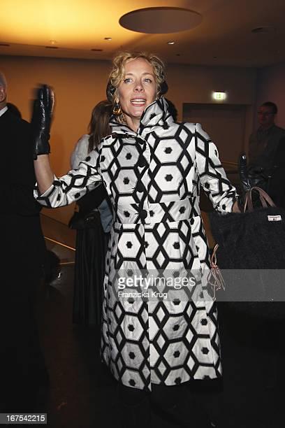 Katja Riemann Bei Der Afterparty Zur Eröffnungsgala Der 60 Berlinale Im Moskau In Berlin