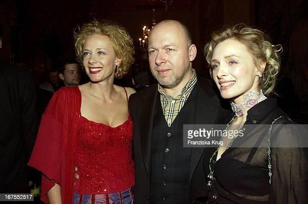 Katja Riemann + Rainer Kaufmann + Marita Marschall Bei Bayerischer Filmpreis Verleihung Im Cuvillies Theater In München