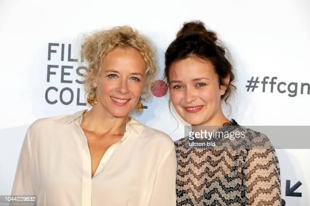 Katja Riemann und Tinka Fürst bei der Eröffnung des 27 Film Festival Cologne am 29 September 2017 im Filmpalast Hohenzollernring 22 50672 Köln