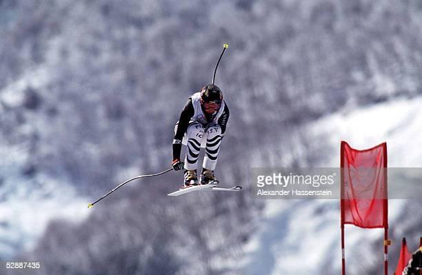 NAGANO 1998 Katja SEIZINGER/GER Gold Abfahrt
