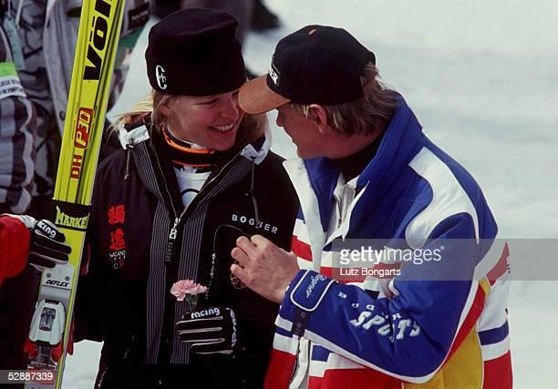 NAGANO 1998 Katja SEIZINGER/GER Markus WASMEIER Gold Abfahrt