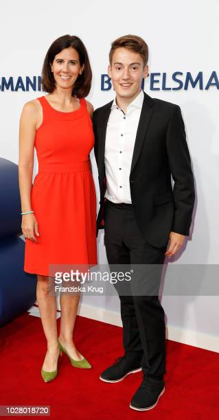 Katja Suding and Kim Niemann attend the Bertelsmann Summer Party at Bertelsmann Repraesentanz on September 6 2018 in Berlin Germany