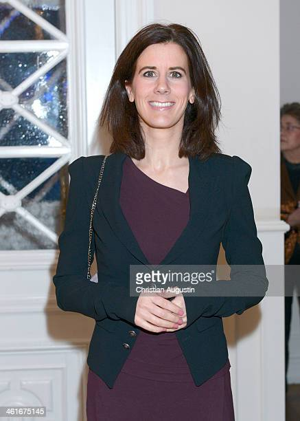 Katja Suding attends New Year Reception of publisher Klaus Schuemann at Hotel Louis C Jacob on January 9 2014 in Hamburg Germany