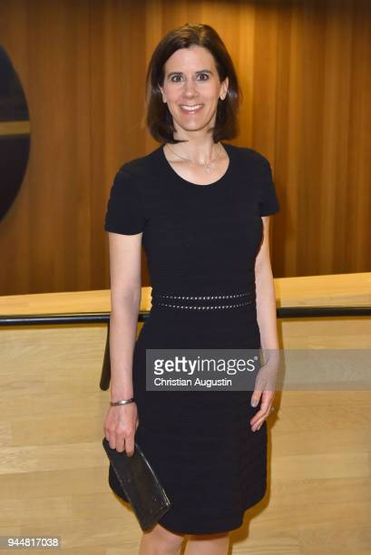 Katja Suding attends the Nannen Award 2018 at Elbphilharmonie on April 11 2018 in Hamburg Germany