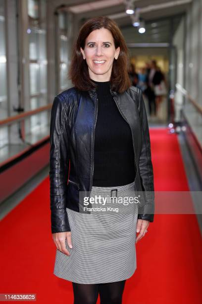 Katja Suding attends the Tag des Journalismus with Nannen Award 2019 at Gruner Jahr publishing house at Baumwall on May 25 2019 in Hamburg Germany