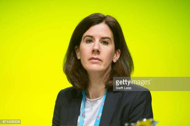 Katja Suding deputy head of the German Free Democratic Party attends the Federal Congress of FDP Political Party on April 28 2017 in Berlin Germany...