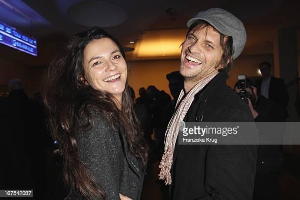 Katja Von Garnier Und Ihr Freund Marcus Gollar Bei Der Afterparty Zur Eröffnungsgala Der 60 Berlinale Im Moskau In Berlin