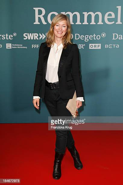 Katja Weitzenboeck attend the 'Rommel' TV Film Premiere at the Delphi Filmpalast on October 24 2012 in Berlin Germany